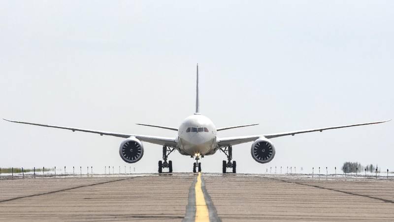 Boeing; Boeing Test and Evaluation; Flight Test; ecoDemonstrator, ecoD, 787-10, ZC069, Etihad Airways, technology demonstrator, product development, NASA, SAFRAN,
