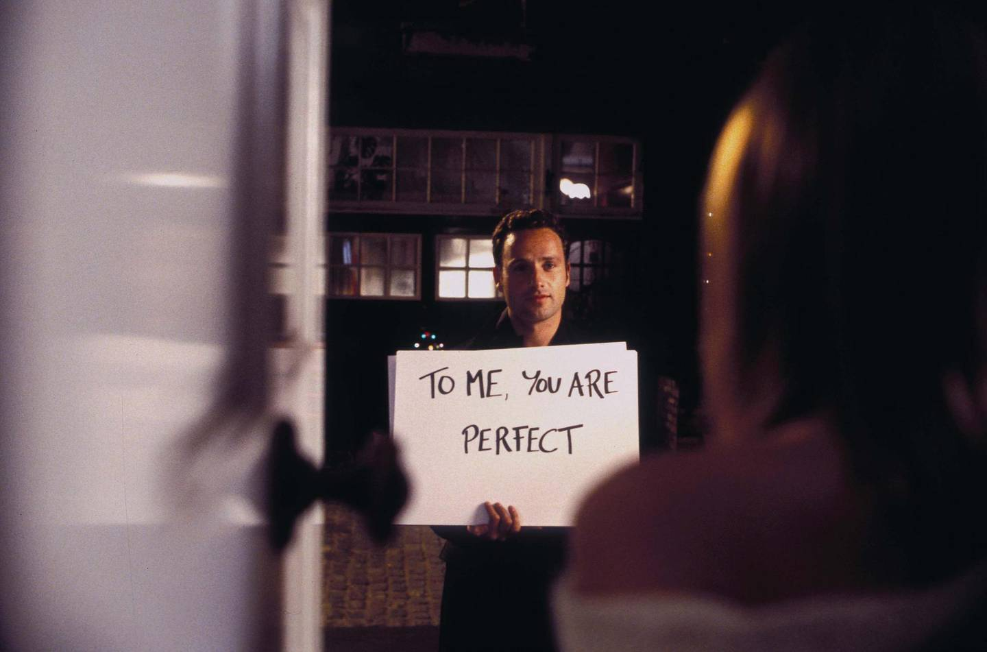 Editorial use only. No book cover usage.Mandatory Credit: Photo by Moviestore/Shutterstock (1575158a)Love Actually,  Andrew LincolnFilm and Television