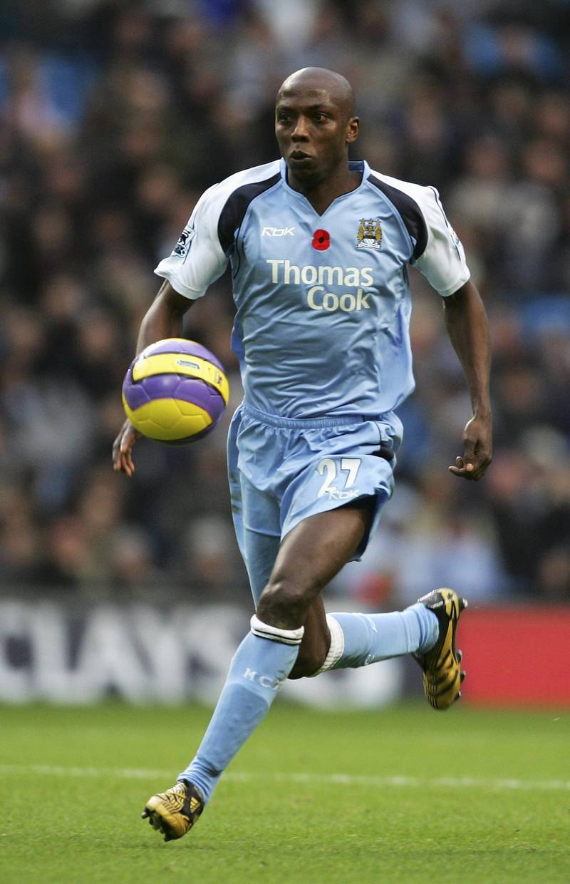 MANCHESTER, UNITED KINGDOM - NOVEMBER 11: Hatem Trabelsi of Manchester City in action during the Barclays Premiership match between Manchester City and Newcastle United at The City of Manchester Stadium on November 11, 2006 in Manchester, England. (Photo Alex Livesey/Getty Images)