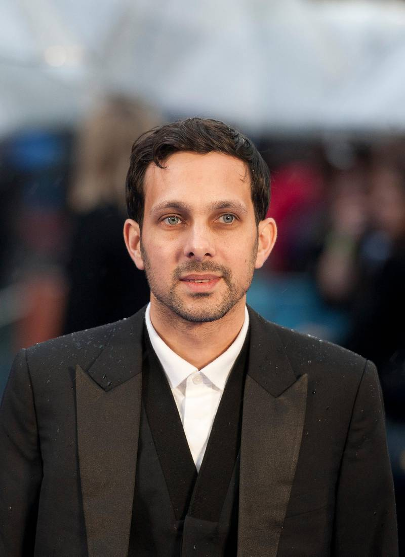 epa04203038 British magician Steven Frayne aka Dynamo arrives at the premiere of X-Men: 'Days of Future Past' in Leicester Square, London, Britain, 12 May 2014. The film is the latest in the X-Men movie franchise.  EPA/WILL OLIVER