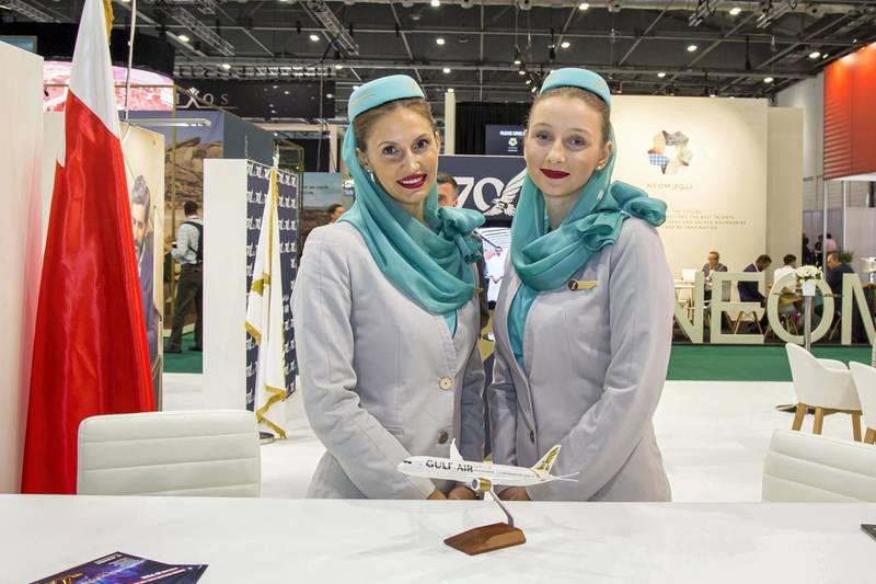 Gulf Air Stand