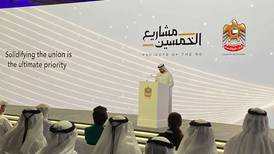 The UAE's future priorities in fifty projects