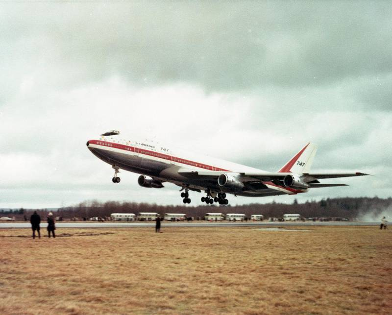 A 747 byline on the occasion of the Queen of the Skies' 50th first flight anniversary. All photos by Boeing