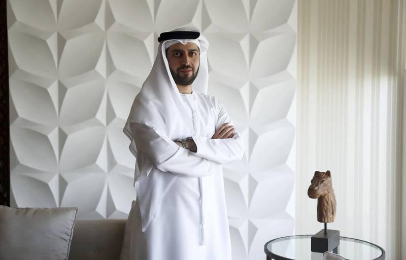 DUBAI ,  UNITED ARAB EMIRATES , JULY 10 ��� 2019 :- Ammar Al Malik ,  Director of Dubai internet City at his office in the Dubai Studio City in Dubai. ( Pawan Singh / The National ) For Business . Story by Alkesh