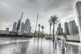 UAE weather: Partly cloudy with light rain and lower temperatures