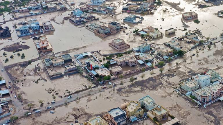 An image that illustrates this article Oman to build 328 houses for flood-stricken families
