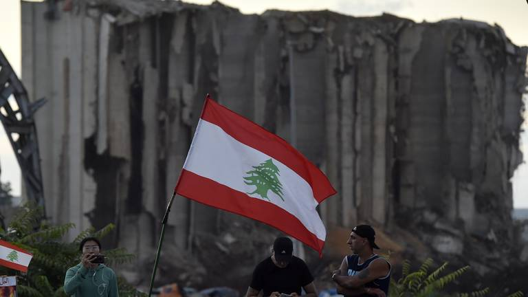 An image that illustrates this article What is happening in Beirut port blast investigation?