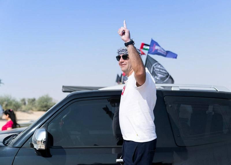 DUBAI, UNITED ARAB EMIRATES. 2 DECEMBER 2019. UAE Pajero club set out to Al Qudra lake on UAE's National day.(Photo: Reem Mohammed/The National)Reporter:Section: