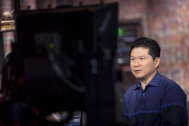 David Chao, co-founder and general partner at DCM Ventures, speaks during a Bloomberg Technology television interview in San Francisco, California, U.S., on Thursday, July 5, 2018. Despite the continuing trade tensions between Washington and Beijing, investors are looking for the next hit out of both countries. Chao broke down how the hunt for new tech is unfolding. Photographer: David Paul Morris/Bloomberg