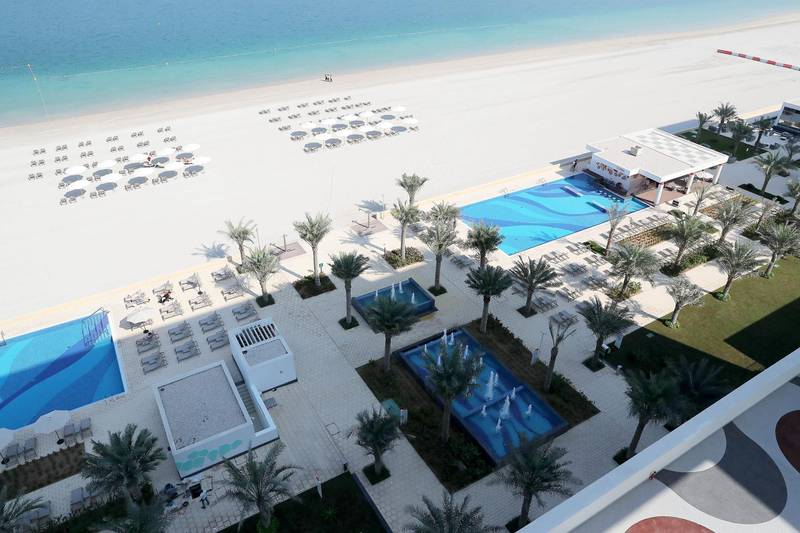 DUBAI, UNITED ARAB EMIRATES, December 10 – View from the Junior suite at the RIU hotel on Deira Island in Dubai. (Pawan Singh / The National) For News/Lifestyle/Online/Instagram. Story by Kelly