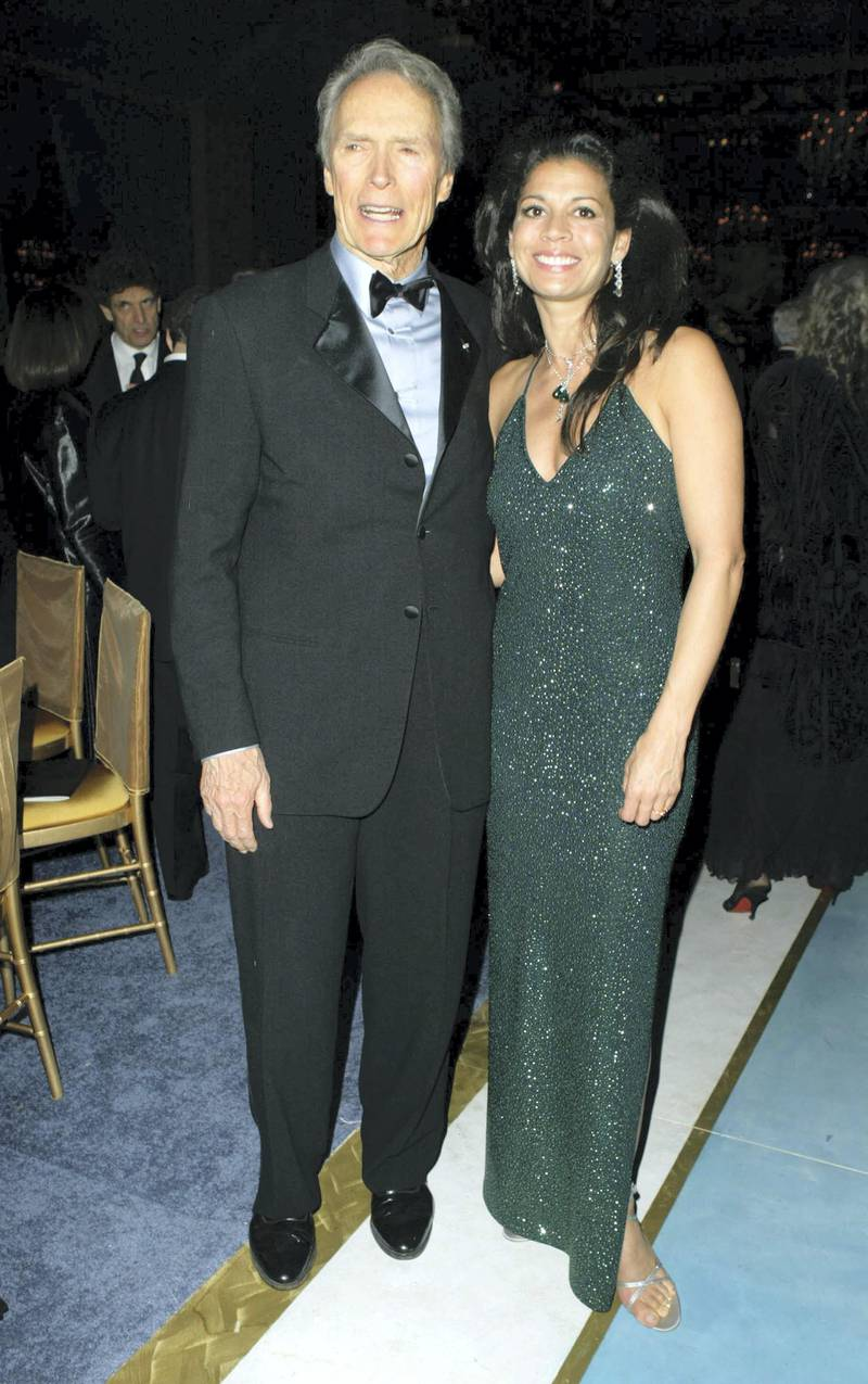 Clint Eastwood and Dina Eastwood during 76th Annual Academy Awards - Governor's Ball at The Kodak Theater in Hollywood, California, United States. (Photo by J. Vespa/WireImage)