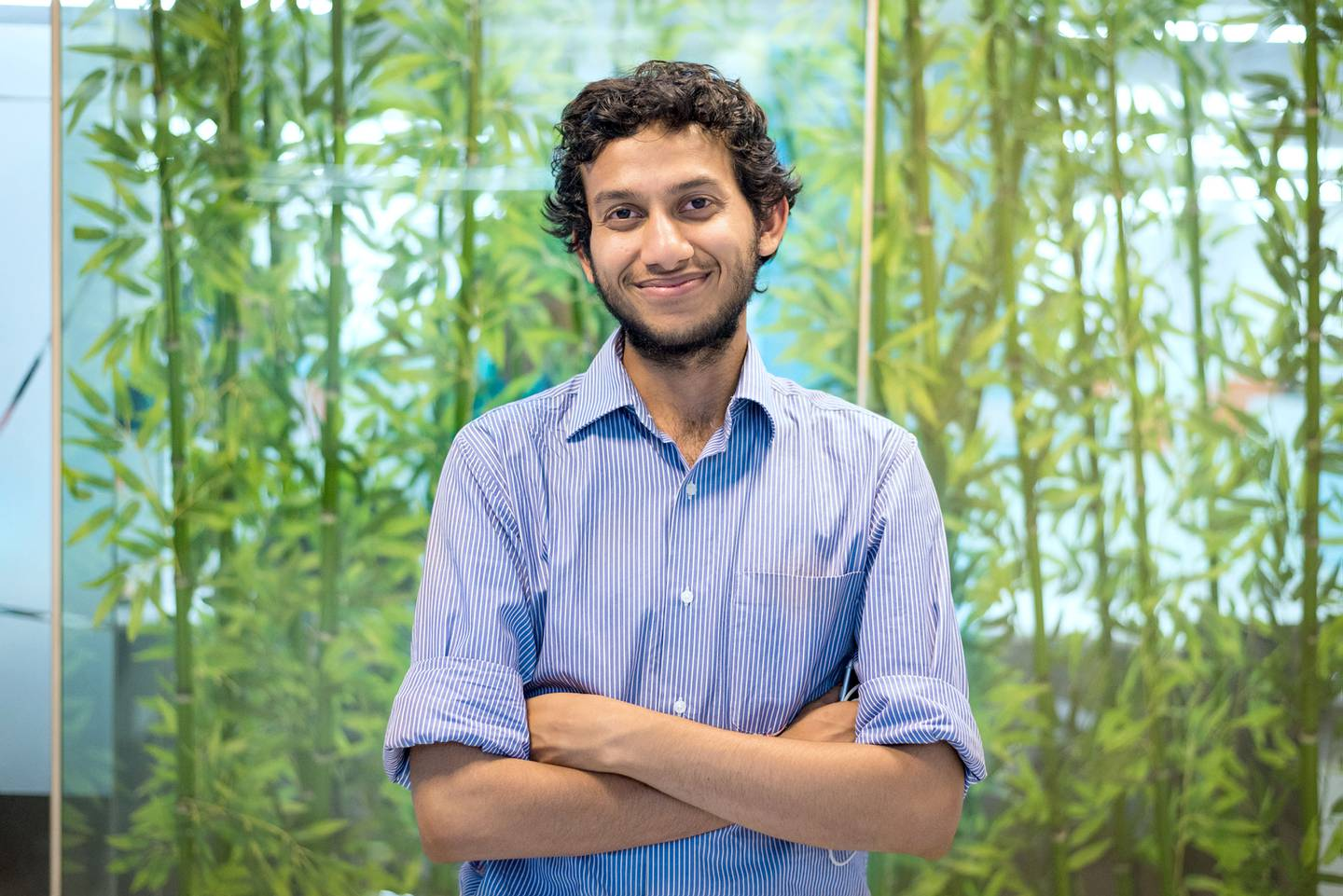 Ritesh Agarwal, founder of OYO Rooms based in Gurgaon, a satellite city of Delhi, India. Just over two-and-a-half years after its launch, OYO now has about 5,000 hotels as part of its network in 175 cities across India. Courtesy OYO Rooms  *** Local Caption ***  _DSC3420(1).jpg