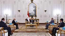 El Sisi meets Libyan officials to push for elections