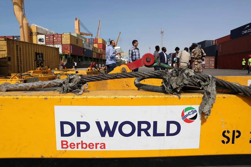 BERBERA , SOMALILAND,  October 10 , 2018 :- View of the Berbera Port in Somaliland.  ( Pawan Singh / The National )  For News. Story by Charlie