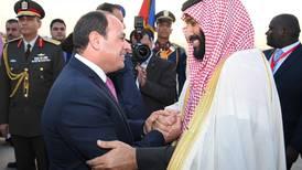 Saudi Arabia's Crown Prince signs $10bn mega-city deal during Cairo visit