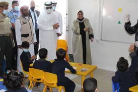 Emirates Red Crescent opens learning disability centre at Mrajeeb Al Fhood refugee camp