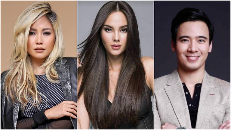 An image that illustrates this article Catriona Gray and Yeng Constantino to appear in  pre-Christmas Dubai concert