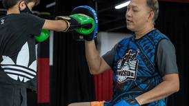 The Dubai gym that beats bullying with boxing
