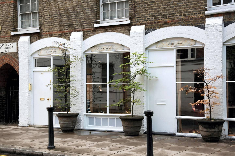PM3RTB Manolo Blahnik; Chelsea; London; England; UK