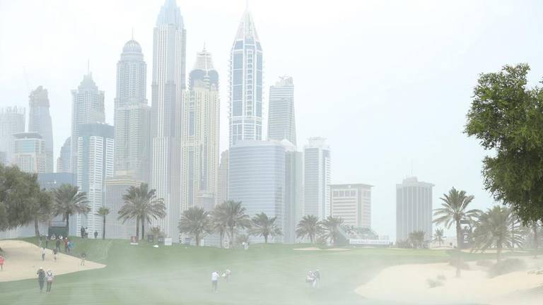 An image that illustrates this article UAE weather tops out in mid-40s