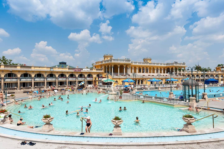 Szechenyi Thermal Baths, Budapest, Hungary