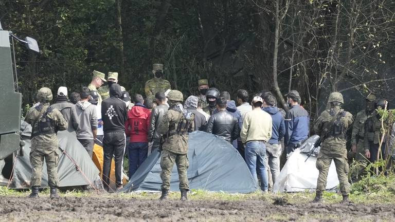 An image that illustrates this article Four migrants found dead near Poland-Belarus border