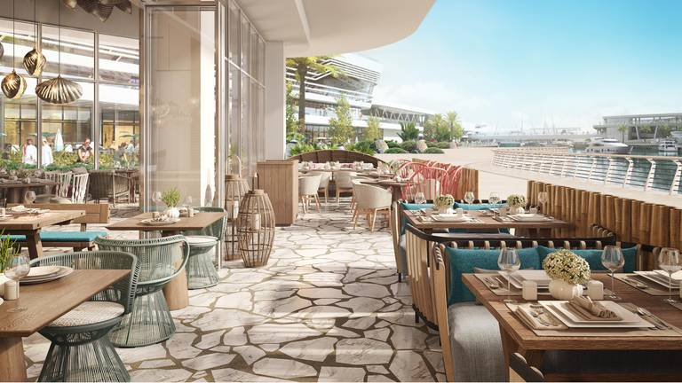 An image that illustrates this article Al Qana: six new restaurants announced for Abu Dhabi's waterfront destination