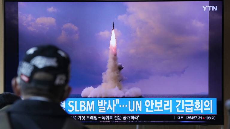An image that illustrates this article North Korea accuses US of double standards over weapons