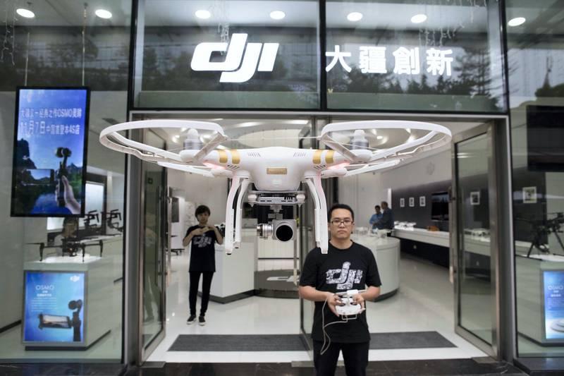 DJI Drone Store in Shenzhen (China). (Photo by: Stockyard/VW Pics/UIG via Getty Images)