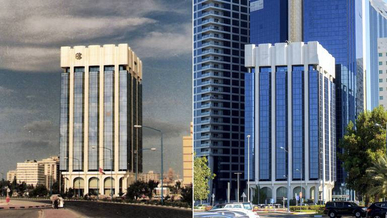 An image that illustrates this article UAE then and now: a symbol of modernity on Abu Dhabi's Corniche