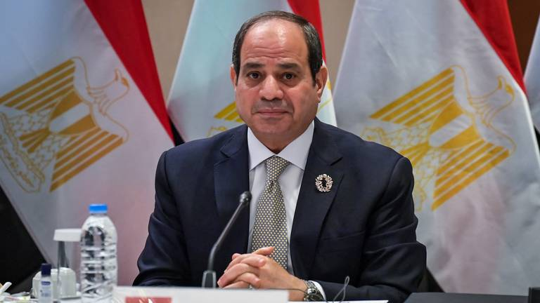 An image that illustrates this article Egypt's El Sisi lifts state of emergency