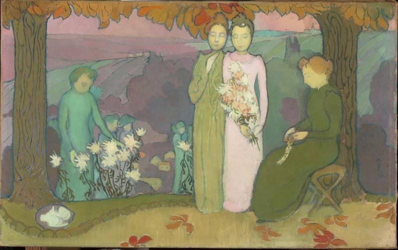 Denis Maurice (1870-1943). Paris, musée d'Orsay. RF2005-2.