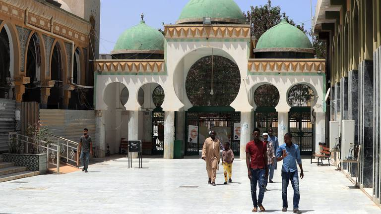 An image that illustrates this article Sufi mosque in Libya offers education and accommodation - in pictures