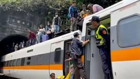 Dozens killed in Taiwan train derailment