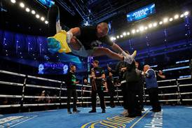 Mbappe, Usyk, Joshua and Hamilton: 25 of the best sports images of the week