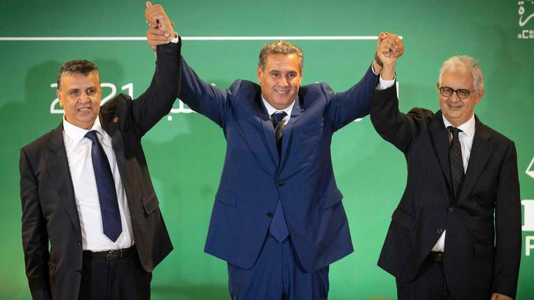 An image that illustrates this article Three parties to form new coalition government in Morocco