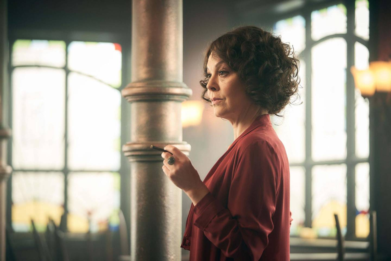 Helen McCrory as Aunt Polly in Peaky Blinders. Robert Viglasky / BBC