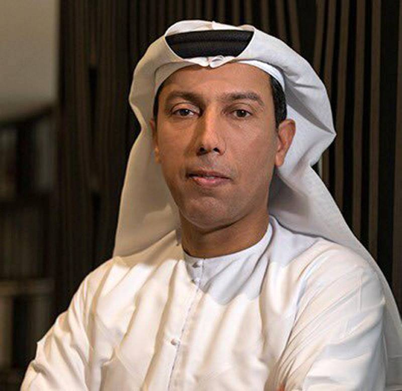 Mohammed Sultan Al-Obaidli as Head of Legal Affairs in the Emirates government.