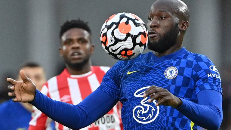 An image that illustrates this article 'Overplayed' Lukaku struggling to find scoring touch at Chelsea
