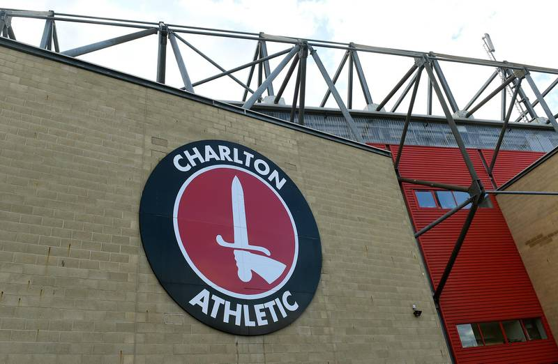 """FILE PHOTO: Soccer Football - Championship - Charlton Athletic v Derby County - The Valley, London, Britain - October 19, 2019   General view outside the stadium before the match    Action Images/Alan Walter    EDITORIAL USE ONLY. No use with unauthorized audio, video, data, fixture lists, club/league logos or """"live"""" services. Online in-match use limited to 75 images, no video emulation. No use in betting, games or single club/league/player publications.  Please contact your account representative for further details./File Photo"""