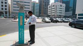 Free parking in Abu Dhabi on New Year's Day