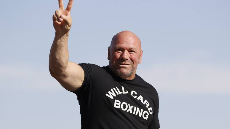 An image that illustrates this article White: UFC Fight Island will be 'hopping again' after US vaccine mandate