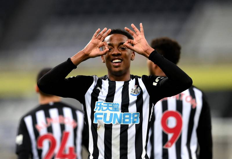 File photo dated 14-05-2021 of Newcastle United's Joe Willock. Issue date: Monday May 24, 2021. PA Photo. Joe Willock admitted he did not want the season to end after becoming only the second player after Alan Shearer to score in seven consecutive Premier League games for Newcastle. See PA story SOCCER Fulham. Photo credit should read Stu Forster/PA Wire.