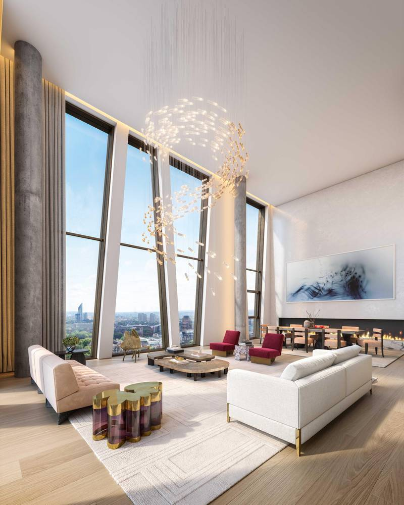 Penthouse Living. Courtesy Northacre