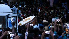 Five Indian policemen arrested over custody deaths of father and son