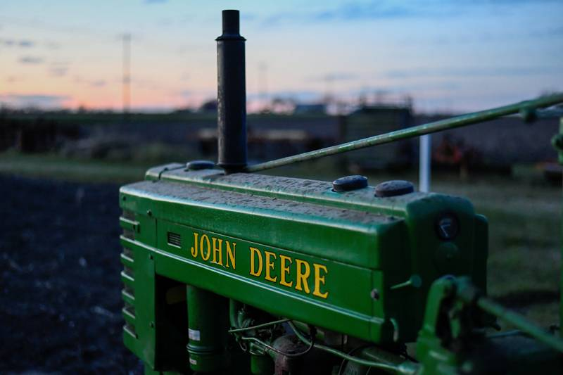 FILE PHOTO: A 1941 Model H John Deere tractor is photographed at a farm in Hutto, Texas, U.S., February 16, 2017. REUTERS/Mohammad Khursheed/File Photo                        GLOBAL BUSINESS WEEK AHEAD   SEARCH GLOBAL BUSINESS 20 NOV FOR ALL IMAGES