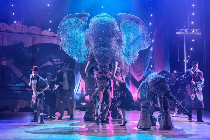 LONDON, ENGLAND - DECEMBER 19: Circus 1903 at The Royal Festival Hall on December 19, 2018 in London, England. (Photo by Rob Ball/WireImage)