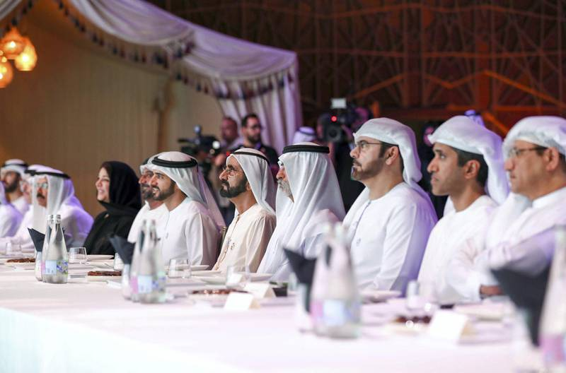 AED 1.8 billion Total expenditure on humanitarian, development and community initiatives and programs for Mohammed bin Rashid Al Maktoum International initiatives in one year. WAM