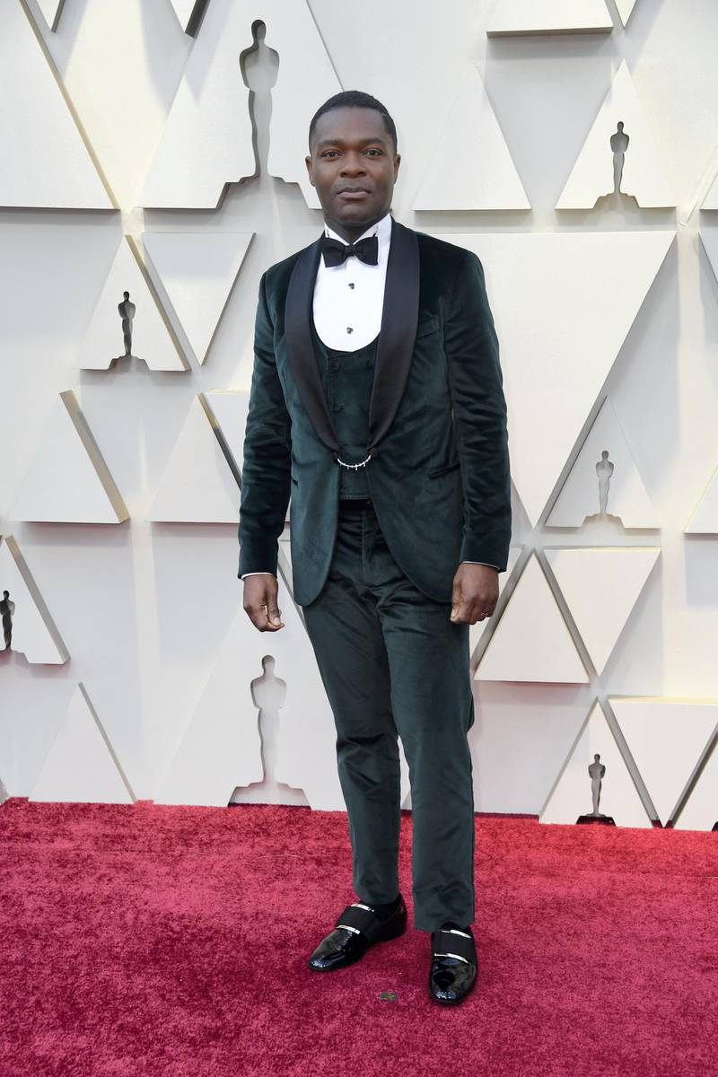 HOLLYWOOD, CALIFORNIA - FEBRUARY 24: David Oyelowo attends the 91st Annual Academy Awards at Hollywood and Highland on February 24, 2019 in Hollywood, California.   Frazer Harrison/Getty Images/AFP