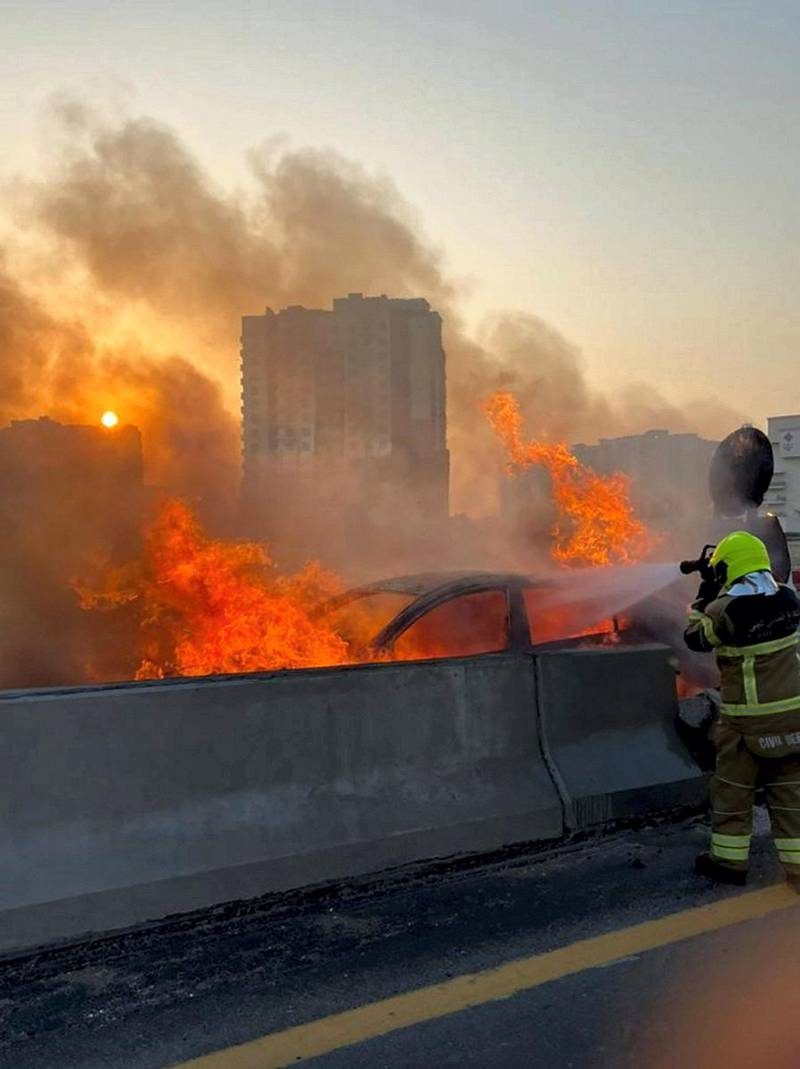 Courtesy Dubai Civil Defence Department